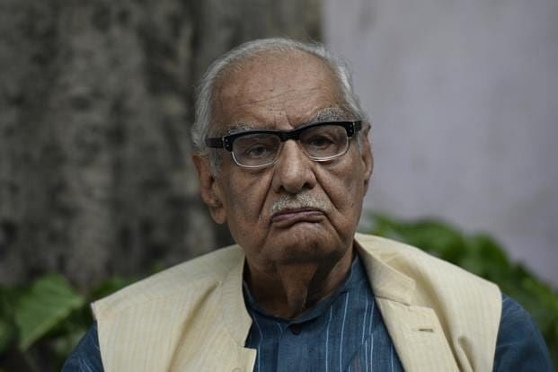 Nayar's father Kuldip Nayar was one of the few journalists who stood firm during the Emergency [Source: Livemint']