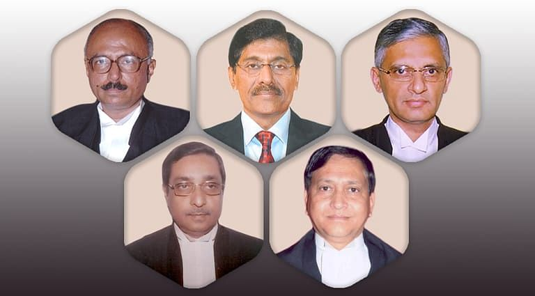 Chief Justices appointed to Five High Courts [Read Notifications]