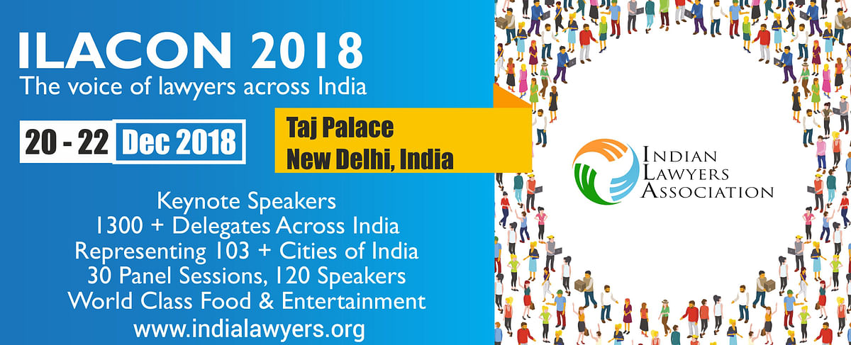 Indian Lawyers Association to host its first Annual National Conference in December 2018