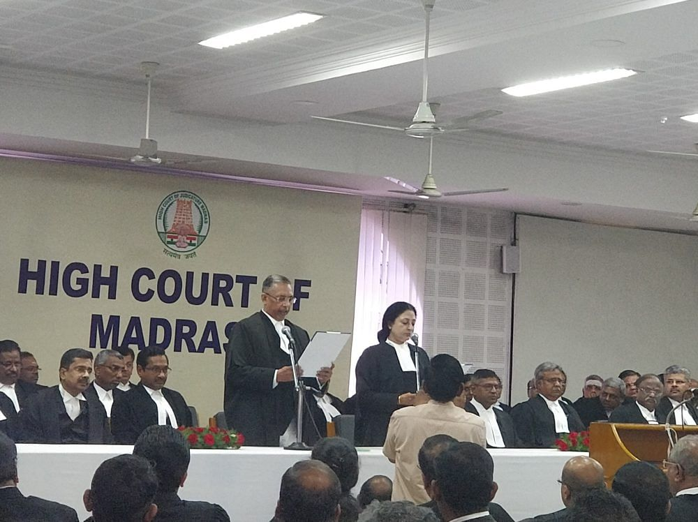 Justice Vineet Kothari sworn in as Judge of Madras HC; Working strength rises to 61 judges