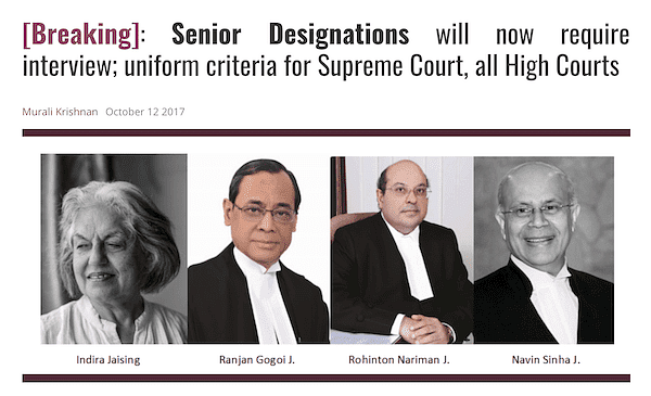 The Delhi High Court is a role model for other high courts, Senior Advocate Rajiv Nayar