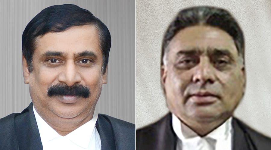 Collegium recommends transfer of HG Ramesh J.  to MP HC, Rajiv Sharma J. to P&H HC