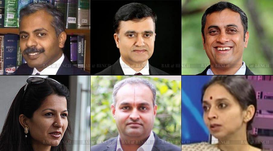 Top Row L-R: Arun Kumar, Arvind Kamath, AS Ponnanna<br />Bottom Row L-R: Jayna Kothari, Srinivas Raghavan, Lakshmi Iyengar