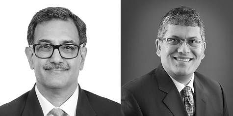JSA Joint Managing Partners Amit Kapur and Vivek Chandy