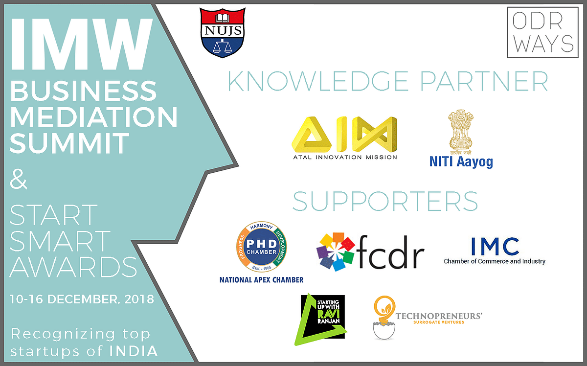 ODRways, NUJS to organise Indian Mediation Week, Business Mediation Summits to spread Mediation Awareness