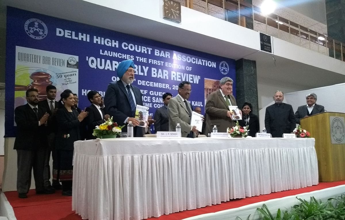 Delhi HC Bar Association launches its quarterly magazine Quarterly Bar Review