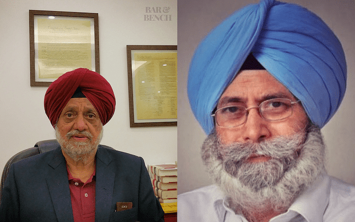 RS Cheema (left) and HS Phoolka (Right)