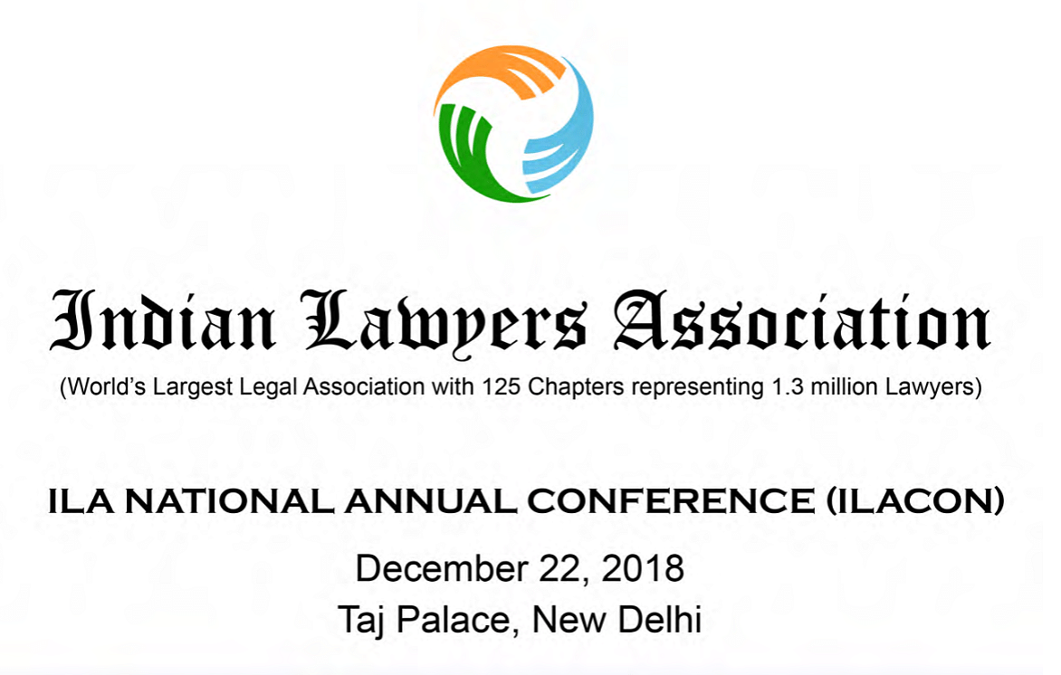 Indian Lawyers Association to host its first Annual National Conference tomorrow