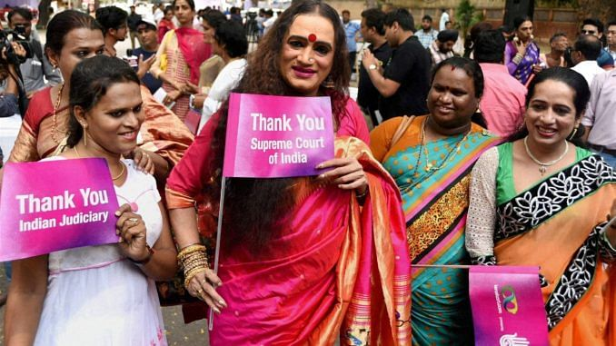 The Supreme Court's 2014 NALSA judgment recognised Trangenders as a third gender