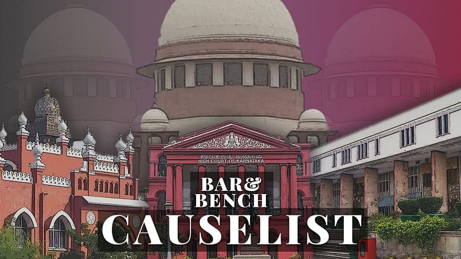 The B&B Causelist #208: Cases we track today