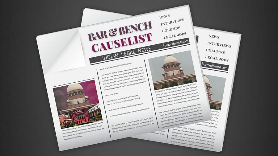 The B&B Causelist #17 of 2020: Cases we track today