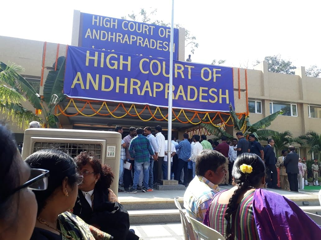 Petition in SC challenging shifting of Andhra Pradesh High Court dismissed as withdrawn