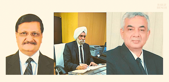 (Left to right) Justice SJ Mukhopadhyaya (Chairperson), Balvinder Singh (Member Technical) and Justice A.I.S. Cheema (Member Judicial)