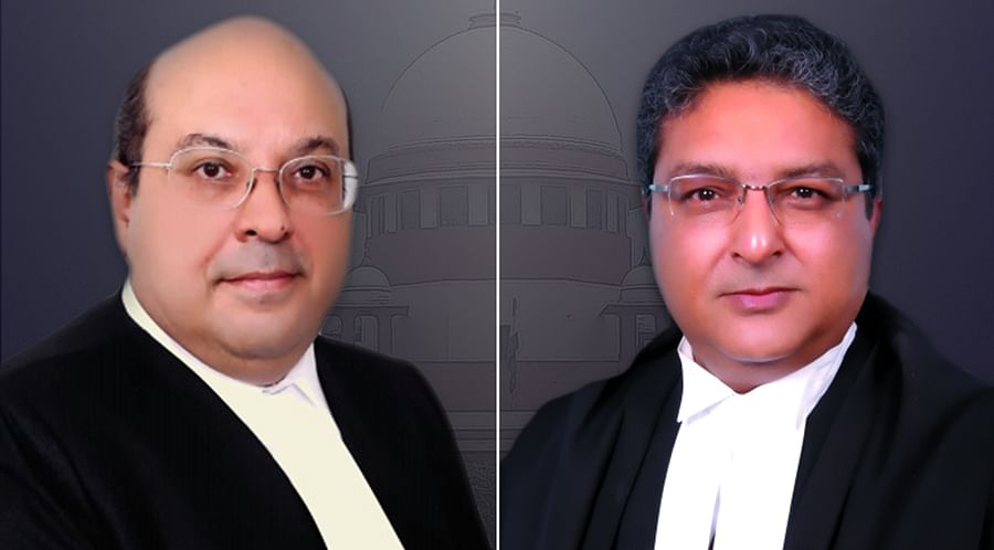 Justices Rohinton Nariman and Vineet Saran