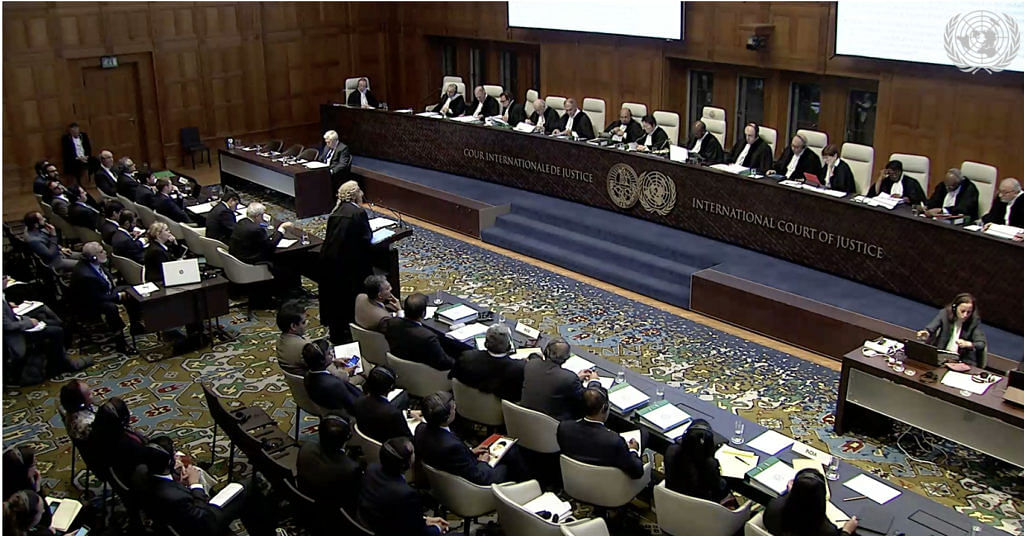 International Court of Justice (ICJ) Court Room