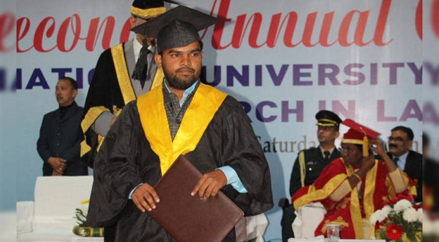 Education can break the shackles: NUSRL grad Yogendra Yadav and his quest to make history