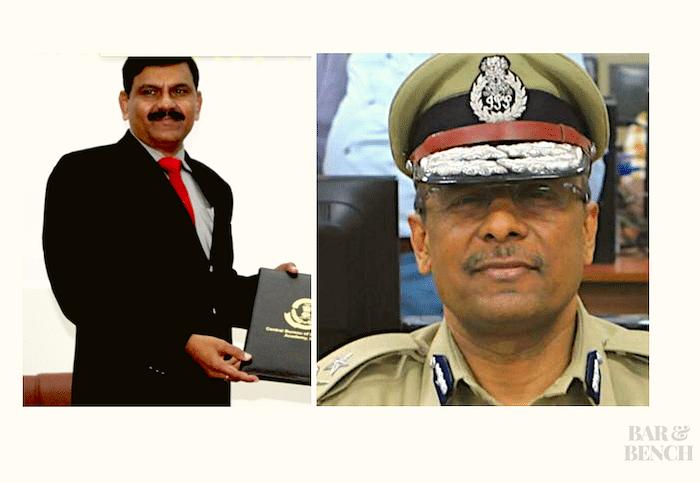 M. Nageshwar Rao (left) and AK Sharma (right)