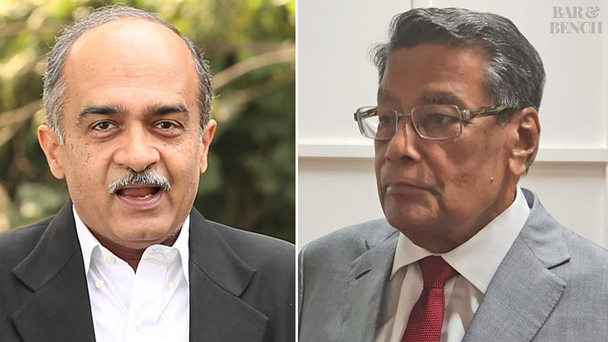 Contempt case against Prashant Bhushan: SC issues revised order after first order omits AG KK Venugopal's appearance