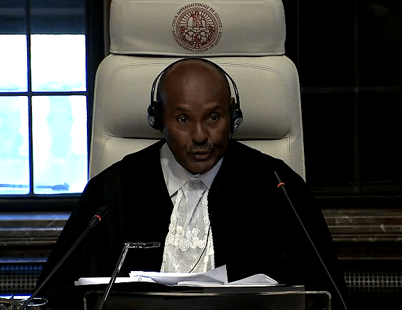 President of the ICJ, Abdulqawi Ahmed Yusuf