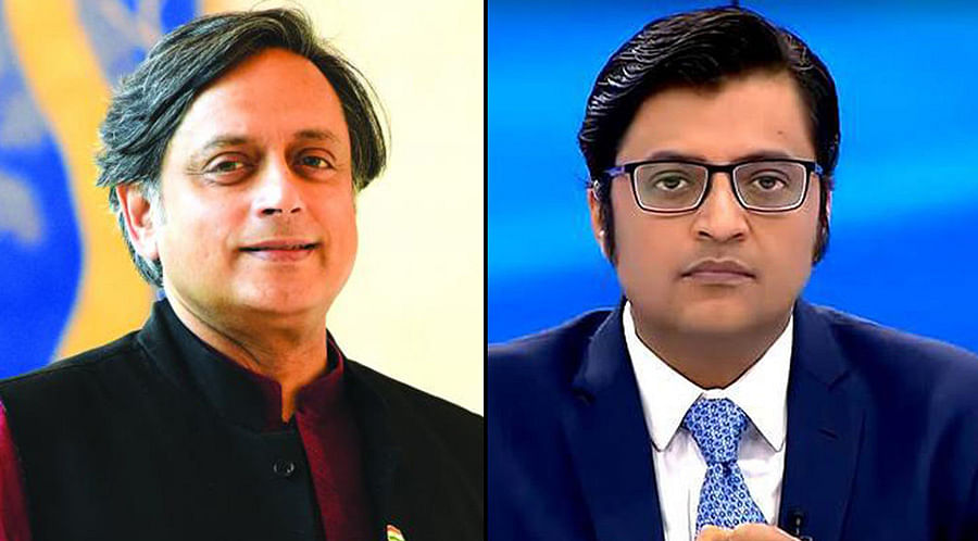 Patiala House Court directs Delhi Police to register FIR against Arnab Goswami on Tharoor's complaint