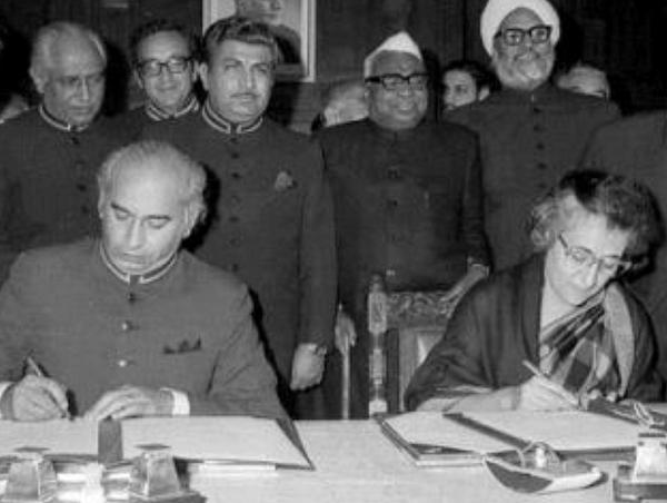 Shimla Accord (Image Source: India Defence News)