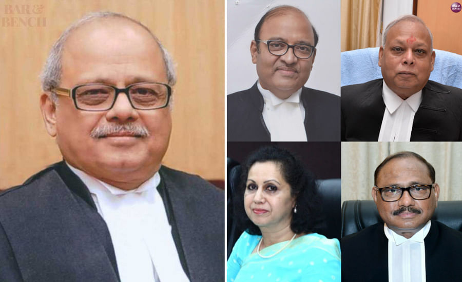 Justice PC Ghosh, Justices Dilip Bhosale, Pradip Kumar Mohanty,