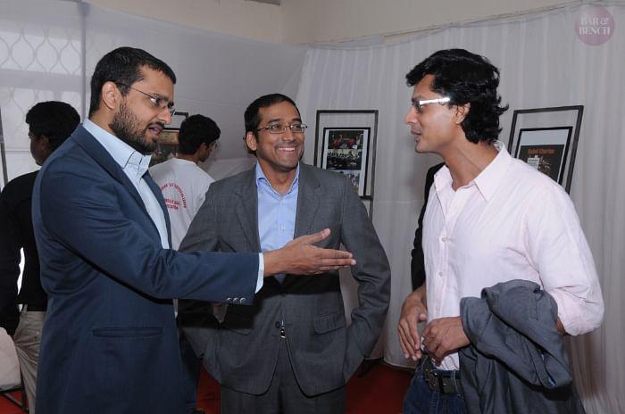 Somasekhar Sundaresan (Center) Shamnad-Basheer (Right)