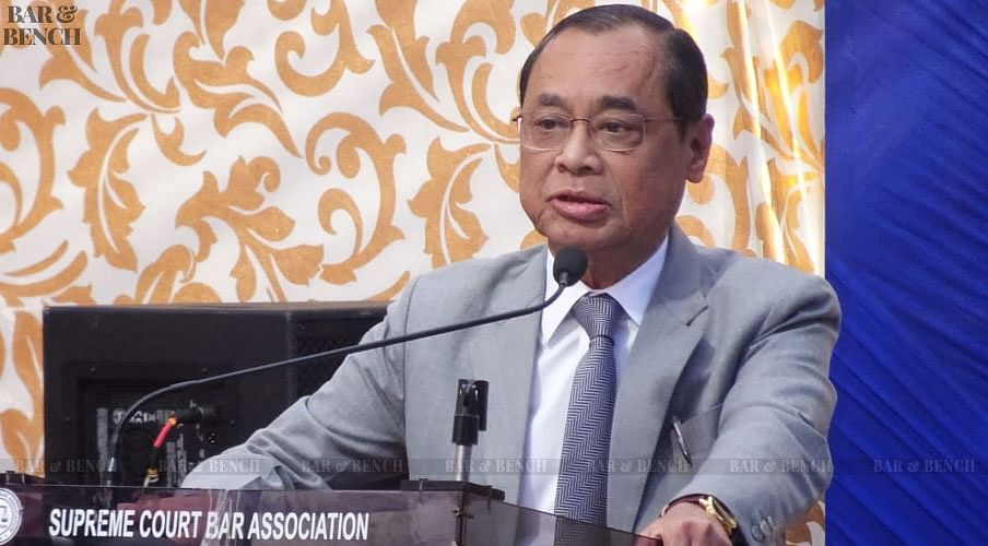 Justice Ranjan Gogoi swearing in as Chief Justice of India