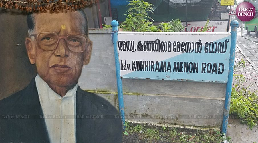 Kerala's acclaimed Trial Lawyer, late Advocate Kunhirama Menon