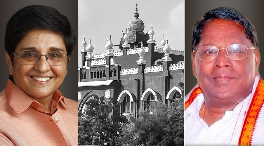 """[Breaking] Lieutenant Governor Kiran Bedi v. Chief Minister of Puducherry: Madras HC asks LG and elected Government to """"work in unison"""""""
