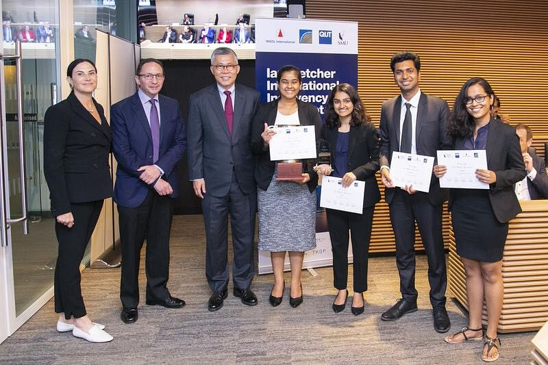 NLIU Bhopal wins Ian Fletcher International Insolvency Law Moot Court Competition