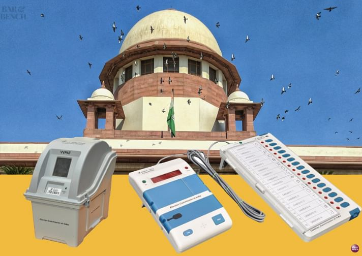 Supreme Court rejects plea by Trinamool Congress leader seeking 100 percent VVPAT verification of votes