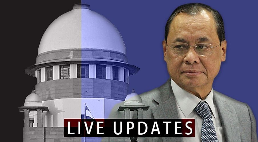 Sexual Harassment Allegations against CJI Ranjan Gogoi: Live Updates from Supreme Court