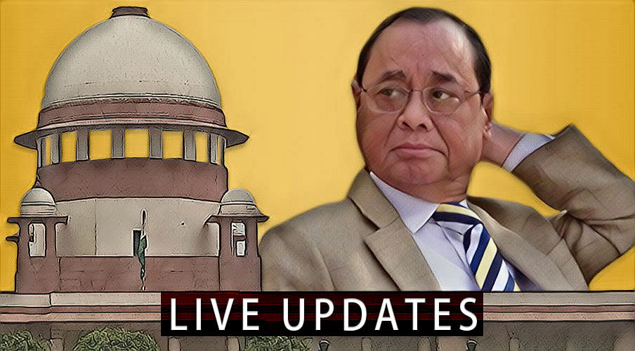 Sexual Harassment Allegations against CJI Ranjan Gogoi, Day 3: Live Updates from SC