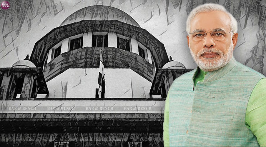 Why has Narendra Modi been made a party to a case against Narendra Modi ? Supreme Court Registry asks petitioner