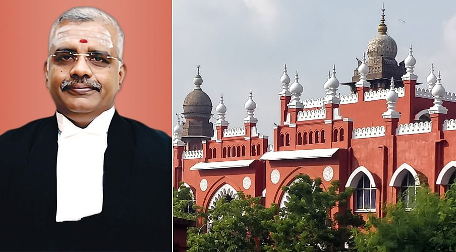 Justice Anand Venkatesh, judge of the Madras High Court