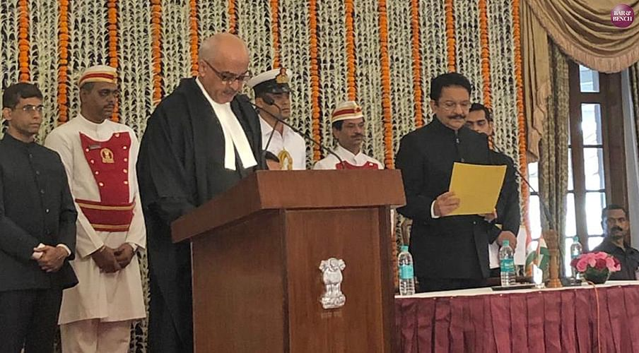 Justice Pradeep Nandrajog takes oath as Chief Justice of Bombay High Court