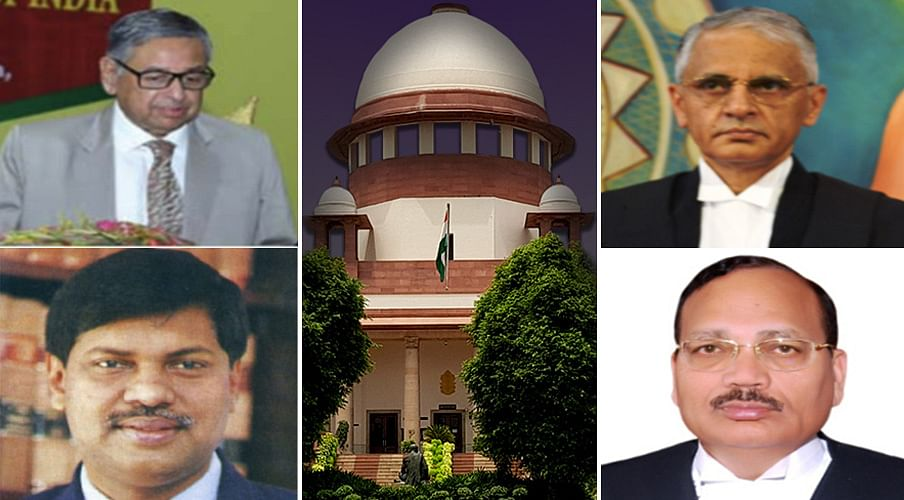 Swearing-in of four new Supreme Court judges tomorrow