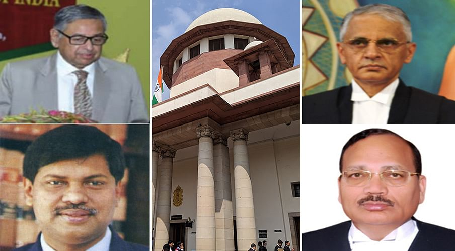 Full House at Supreme Court: Four new judges sworn in