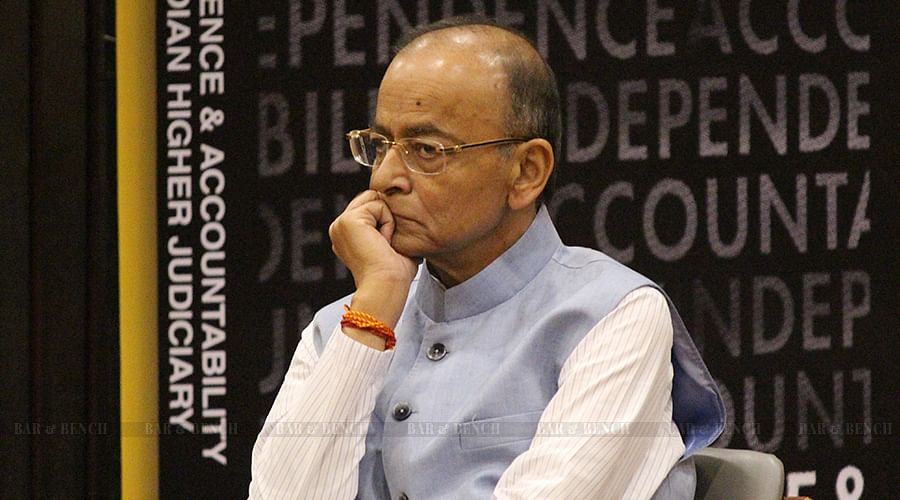 Process of mass intimidation of the Judiciary has begun, Finance Minister Arun Jaitley