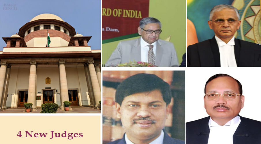 Breaking: Justices Aniruddha Bose, AS Bopanna, BR Gavai, Surya Kant elevated to Supreme Court