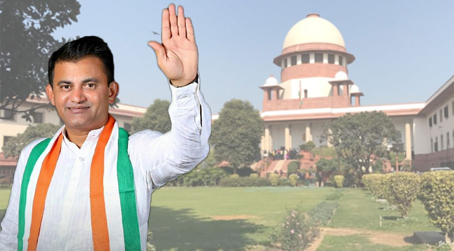 Congress Leader Paresh Dhanani moves Supreme Court for simultaneous by-polls in two Gujarat Rajya Sabha seats