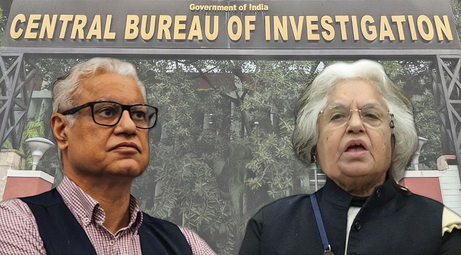 Breaking: CBI raids residence, offices of Indira Jaising and Anand Grover in FCRA case