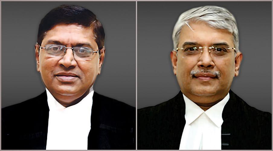 Justice S Manikumar (L) and Justice Subramonium Prasad (R)