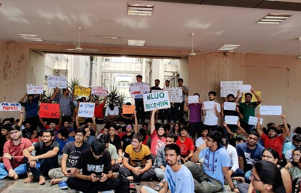 NLU Odisha students commence indefinite protest citing chronic maladministration, arbitrary fee hike
