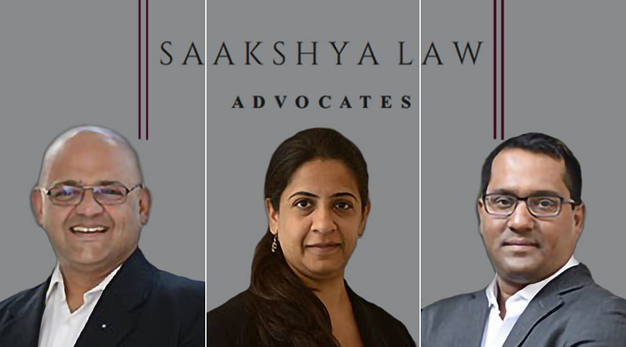 Former Argus Partners Siddharth Raja, Aditya and Megha Narayan set up 'Saakshya Law, Advocates'