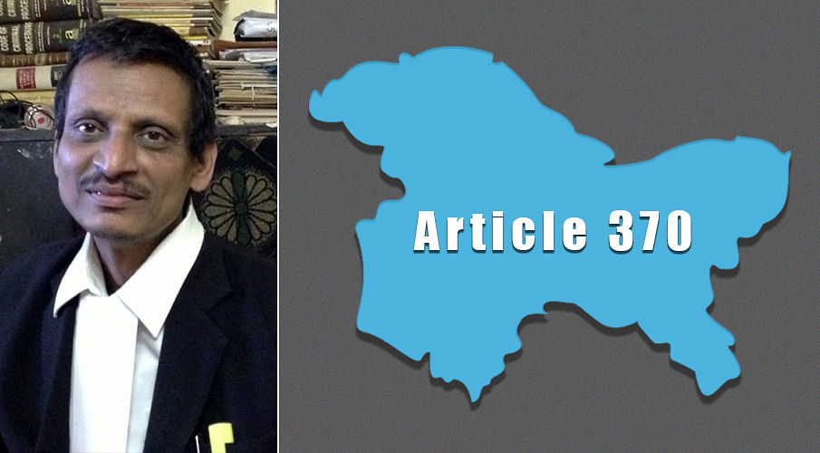 Article 370: First challenge to Presidential Order by ML Sharma in Supreme Court