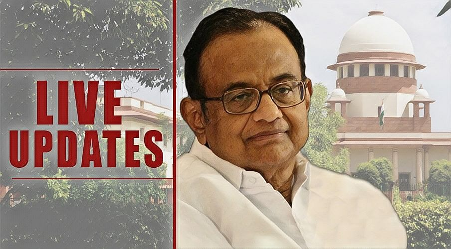 Plea by P Chidambaram for anticipatory bail in INX Media Case by ED: Live Updates from SC [Day 4]