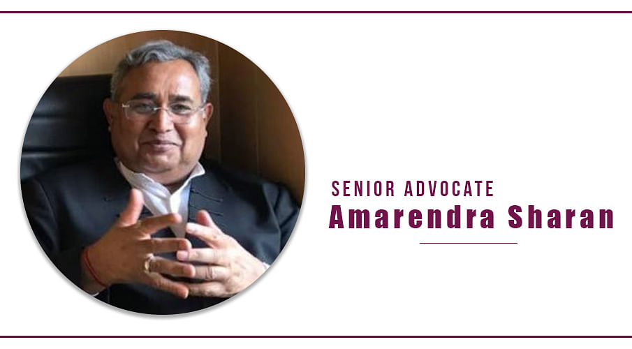Former ASG, Senior Advocate Amarendra Sharan passes away
