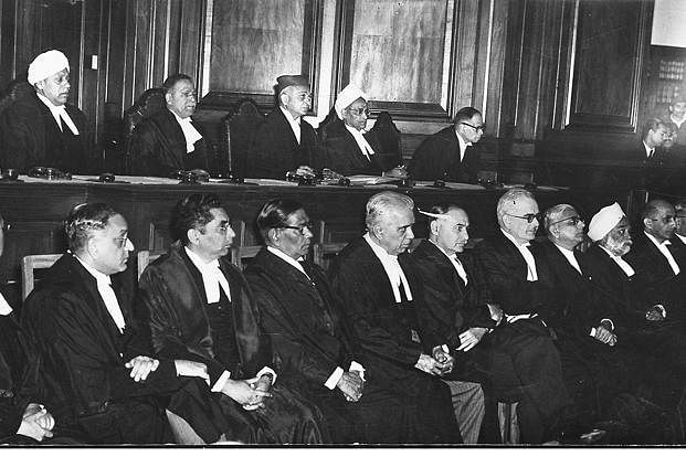 Members of the Federal Court that preceded the Supreme Court of India